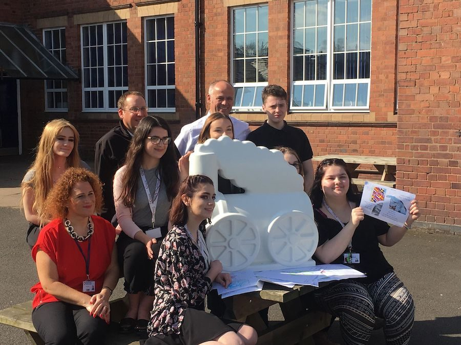 Featured Artist: Bridgnorth Endowed School, led by Louise Rhodes